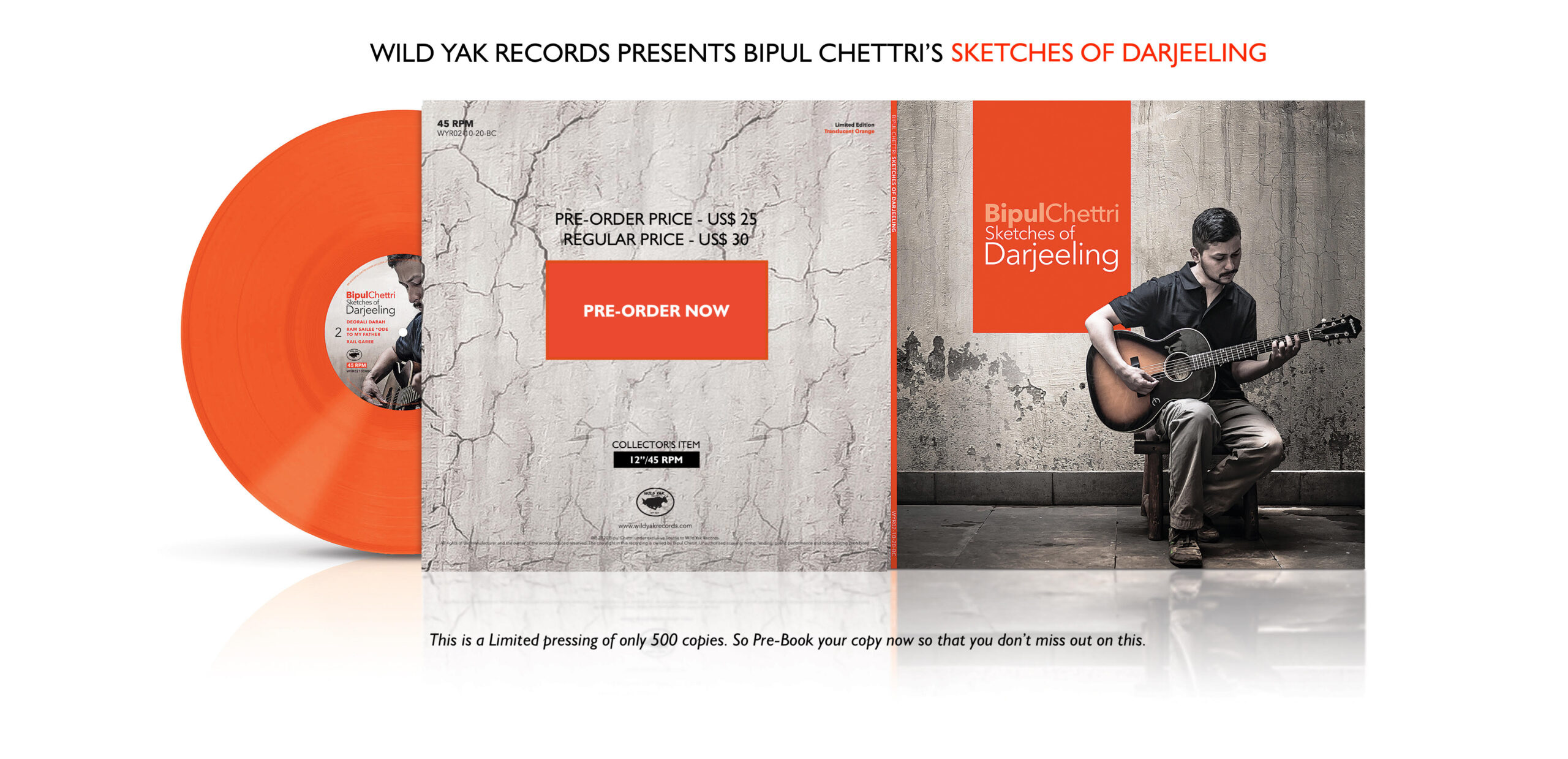 Bipul Chettri Vinyl